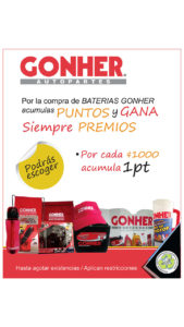 Gonher promocional 2