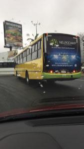 Publicidad Trasera de Buses